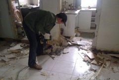 上海餐厅拆除
